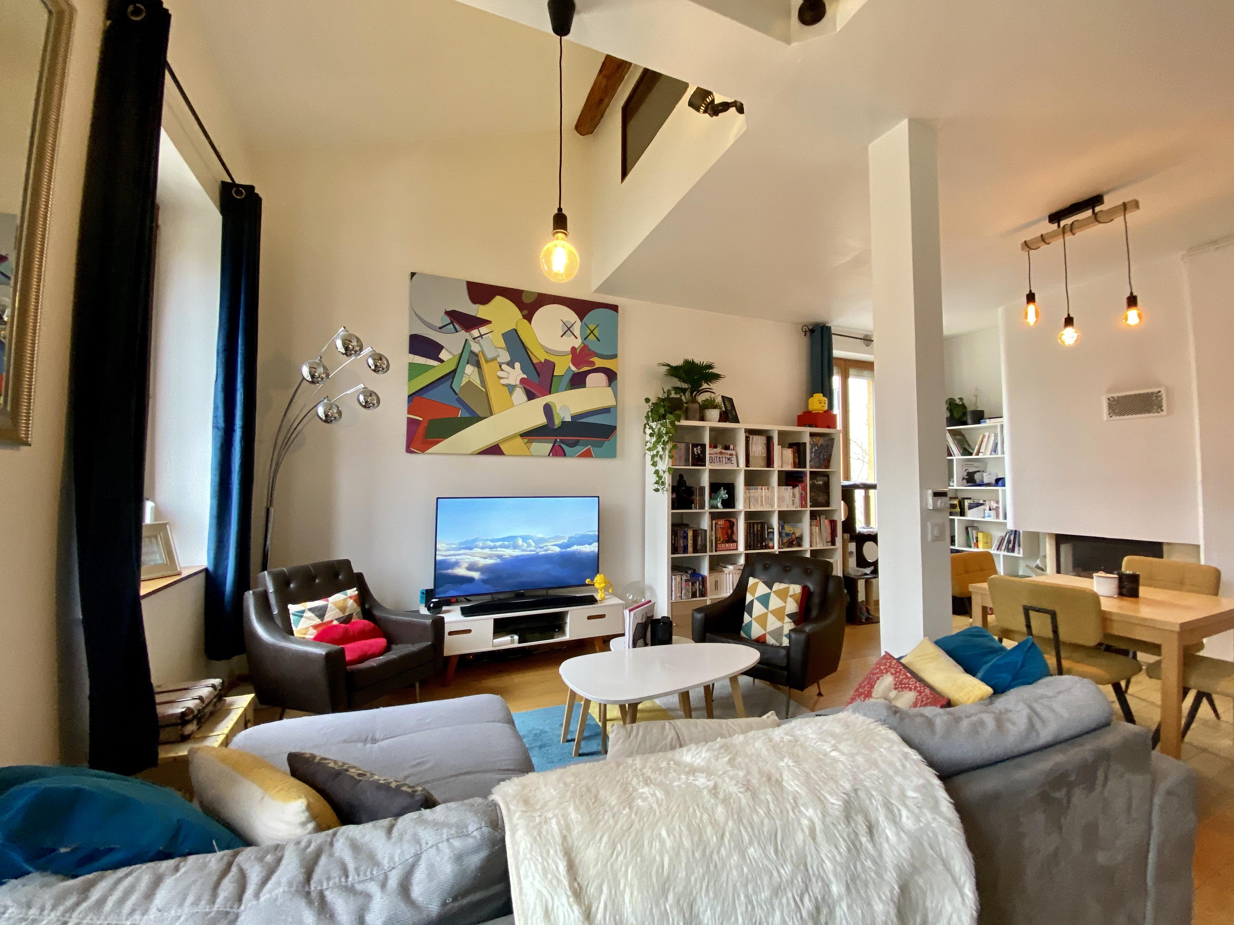 Appartement atypique sur le plateau de la Croix Rousse